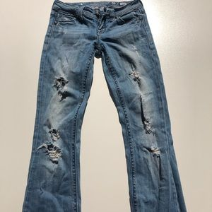 Miss Me Jeans Boot Cut Embellished Distressed